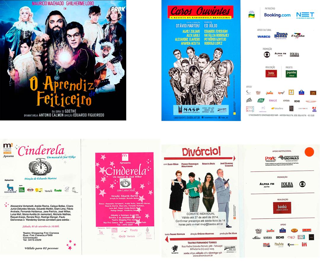 Flyer Ventura apóia Cultura